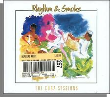 Rhythm & Smoke: The Cuba Sessions - New Cuban Songs CD - Leroy Neiman Cover!