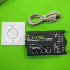 New DC12-24V 20A 240W Multi-function LED Programmable Timer Dimmer Controller