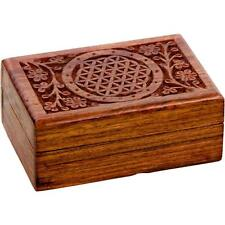 "4x6"" Flower of Life Wooden Box!"
