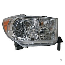 07-13 Toy Tundra Right Passenger Side Headlamp Assembly without Level Adjuster