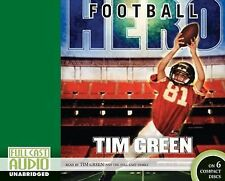 Football Hero by Tim Green (2009, CD Set)