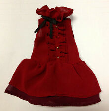 "Takara 12""Blythe Doll Factory Outfit Red Dress T02"