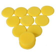 12pcs Waxing Foam Polish Wax Sponge Pads Applicator For Clean Car Glass Vehicle