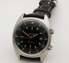 Massive 1968 Technos Sky Diver Super Compresssor Divers Watch 50mm x 42mm