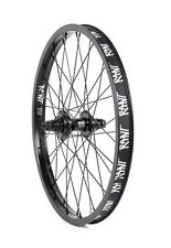 """RANT PARTY ON BMX BIKE BICYCLE 20"""" REAR WHEEL SHADOW SUBROSA LHD 9t BLACK NEW"""