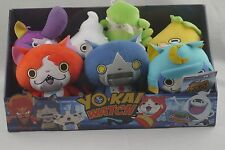 Yokai Watch Yo-Kai Plush Doll lot of 7 Robonyan jibanyan Whisper W/ Box