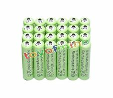 24x AAA 1800mAh 1.2V Ni-MH Rechargeable battery 3A Green Cell for MP3 RC Toys