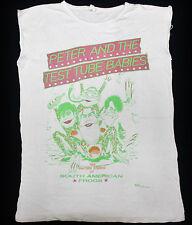 RARE VINTAGE 80's PETER AND THE TEST TUBE BABIES PUNK ROCK TOUR CONCERT T-SHIRT