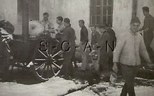WWII German RP- Field Kitchen- Stove- Cook- Army Soldier- Winter Chow- Snow