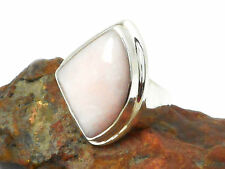 Pink  OPAL  Sterling  Silver  925  Gemstone  RING  -  Size: Q  -  Gift  Boxed!