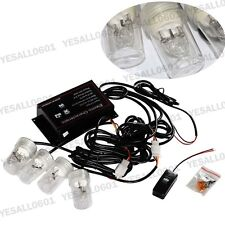 4x HID Xenon Bulbs Kit Strobe Headlight White HIDE-A-WAY Warn Hazard