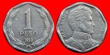 1 PESO 1993 CHILE-22932