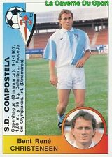126 BENT CHRISTENSEN DENMARK SD.COMPOSTELA STICKER CROMO LIGA 1995 PANINI