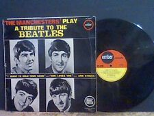 THE MANCHESTERS  A Tribute To The Beatles  LP     GREAT !!
