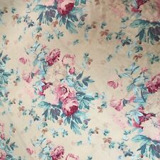 Vintage Ralph Lauren 1989 Elsa Fabric Floral Shabby Chic Designer By The Yard