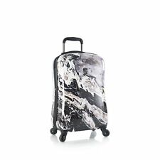 """Heys Luggage 21"""" Carry-on Spinner Nero Stone Marble Print"""