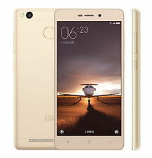 "GOLD 5.0"" XIAOMI REDMI3 PRO PRIME 3+32GB OCTA CORE DUAL SIM UNLOCK 4100mAh UK"
