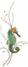 Rainbow Seahorse (Right Facing) Metal Wall Art Decor Sculpture by Bovano #W1923R