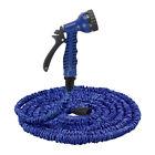 25/50/75FT Expandable Flexible Garden Water Hose With Spray Good Gun Nozzle-A12