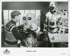 DONALD MOFFAT AND ROBOTS LOGAN'S RUN ORIGINAL 1976 CBS TV PHOTO
