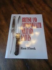 RARE WWII BOOK of BRITISH COMMONWEALTH KNIVES By Ron Flook Miltary fighting