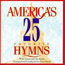 America's 25 Favorite Hymns by Various Artists (CD, Aug-1995, Jive (USA))