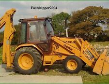 CASE 580K Phase 1 BACKHOE TRACTORS SERVICE MANUAL PARTS OPERATOR 4 MANUALS 580 K