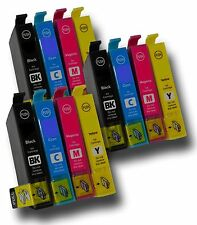 12 x Ink Cartridges ( 3 Sets ) Non-OEM Alternative For Epson RX520