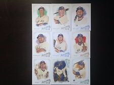 2015 Topps Allen & Ginter Toronto Blue Jays Team Base SP Set 9