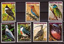 GUINEE EQUATORIALE sériec # sc76103-76109 protection oiseaux asiatiques    375T6