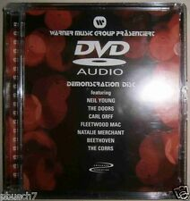 DVD AUDIO Warner Promo Fleetwood Mac Neil Young Doors Natalie Merchant SEALED