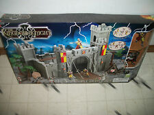 The Kingdom of Knight Knights Castle Deluxe set Castle 6 knights 4'' figures New