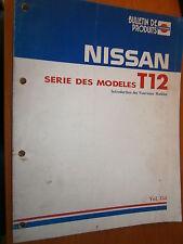 Nissan T12 BLUEBIRD 1986 : livret de présentation