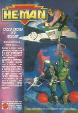 X4378 He Man - Lizorr - MATTEL - Pubblicità 1989 - Advertising