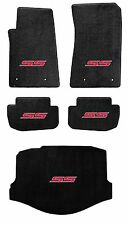 NEW! BLACK FLOOR MAT 2014-2016 SS Sedan Embroidered SS Logo in Red set of 5 Mats