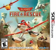 NINTENDO 3DS PLANES FIRE & RESCUE COMPLETE BRAND NEW