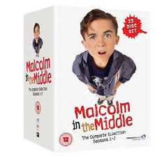 Malcolm in the Middle Complete Collection Seasons 1-7 NEW PAL Family 22-DVD Set