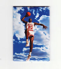 MICHAEL JORDAN / CLOUDS - FRIDGE MAGNET (costacos poster chicago nike air dunk)