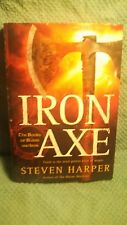 Iron Axe: The Books of Blood and Iron HARDCOVER   Stephen Harper