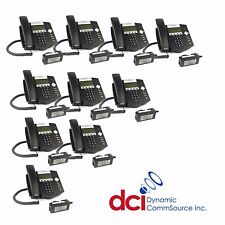 Refurbished 10 Pack Polycom SoundPoint IP 450 Telephones w/Power *FREE SHIP