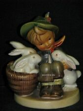 "Goebel Hummel 58/0 ""Hasenvater"", playmates, Junge mit Hasen Bunny, full bee"