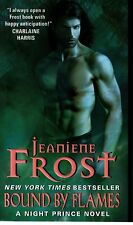 Jeaniene Frost  Bound By Flames   Night Prince  Paranormal Romance  Pbk NEW Book