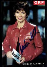 Barbara von Melle ORF Autogrammkarte Original Signiert ## BC 22776