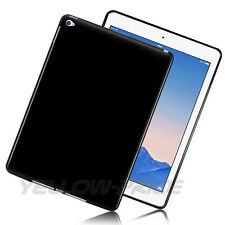 New Black TPU Soft Silicon Rubber Case Cover Skin For Apple iPad Air 2 iPad 6