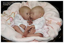 Reborn doll kit twins Mavie & Julie by Evelina Wosnjuk