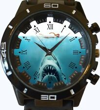 Jaws Shark Attack New Gt Series Sports Unisex Gift Watch