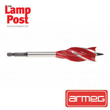 Armeg 25mm Drill bit - 25.0mm WOOD BEAVER Auger style Drill