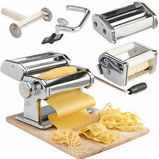 VonShef 3 in 1 Stainless Steel Professional Fresh Pasta Maker Machine