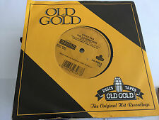"LITTLE EVA - THE LOCOMOTION / KEEP YOUR HANDS OFF MY BABY  7"" OLD GOLD VINYL"