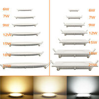 Dimmbar 6W-21W LED Panel Lampe Strahler Leuchte Deckenleuchte weiß Ultraslim